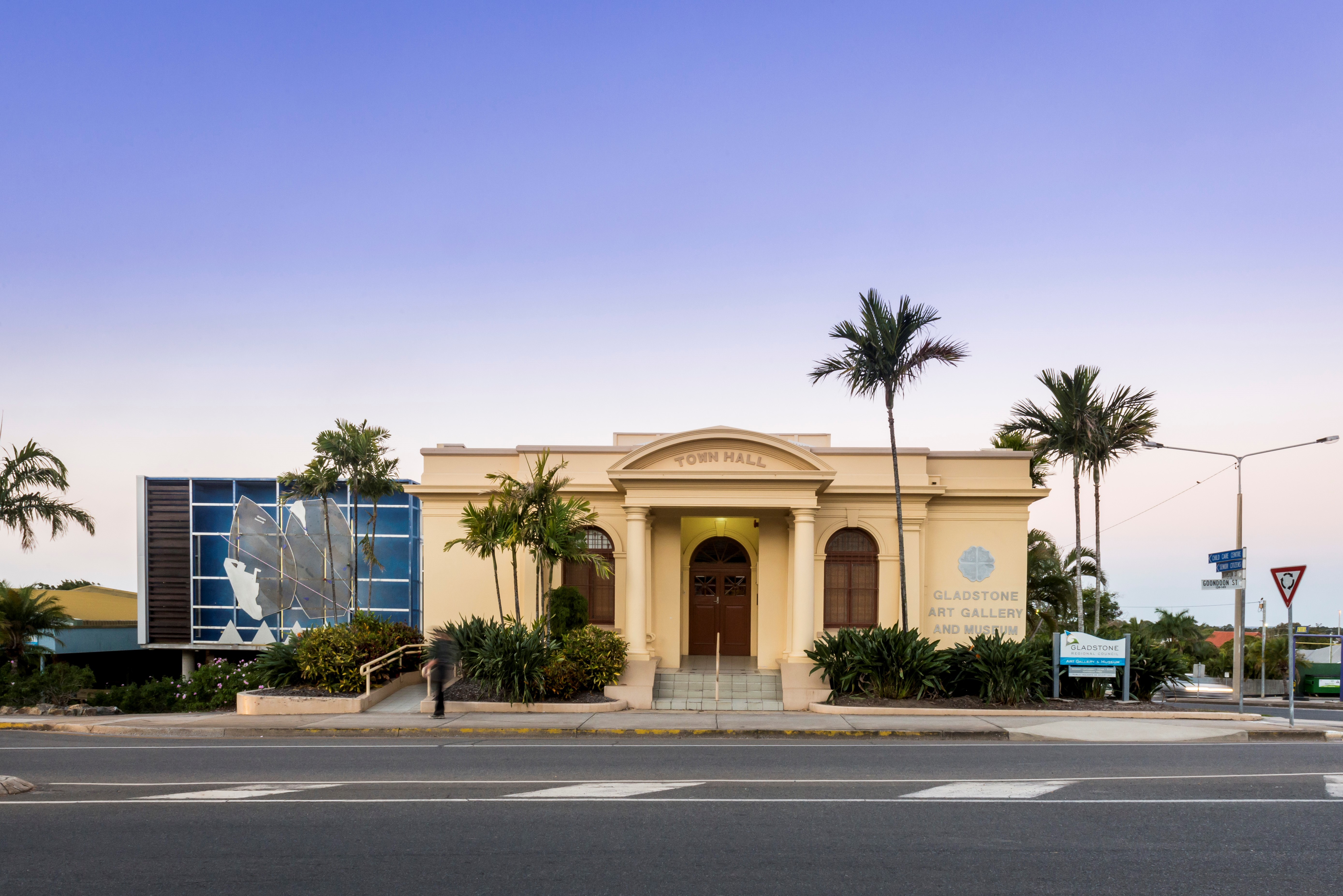 Gladstone Regional Art Gallery & Museum is housed within the old Town Hall (Chrissy Harris Photography)