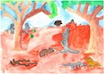 2017 Celebrate Australia Primary School Art Competition Highly Commended Section One: Australian Outback Animals by Ella Van Blerk