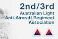 2nd / 3rd Australian Light Anti-Aircraft Regiment.  Army patch