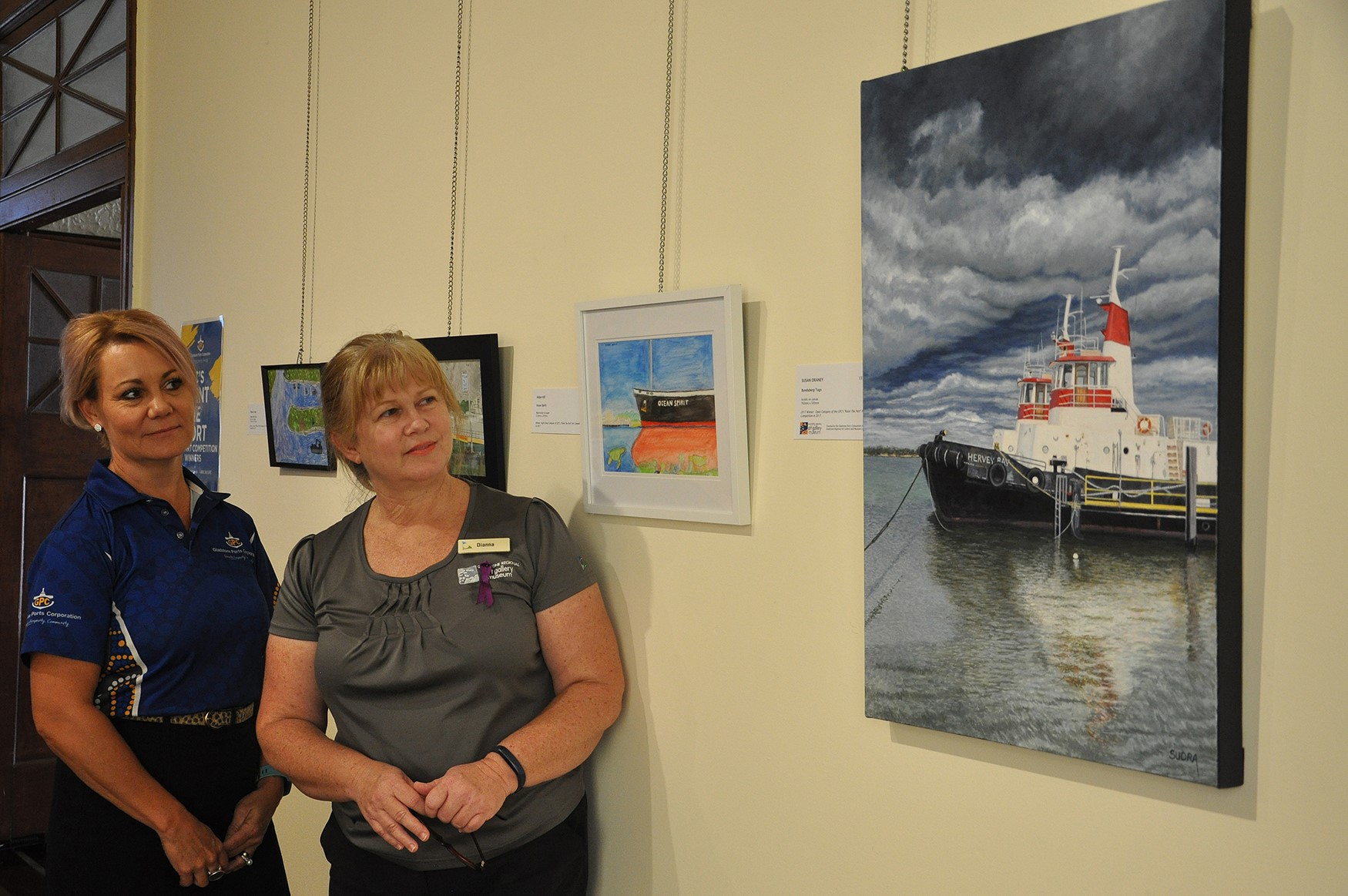 Gallery & Museum adds GPC winning art work to local art collection