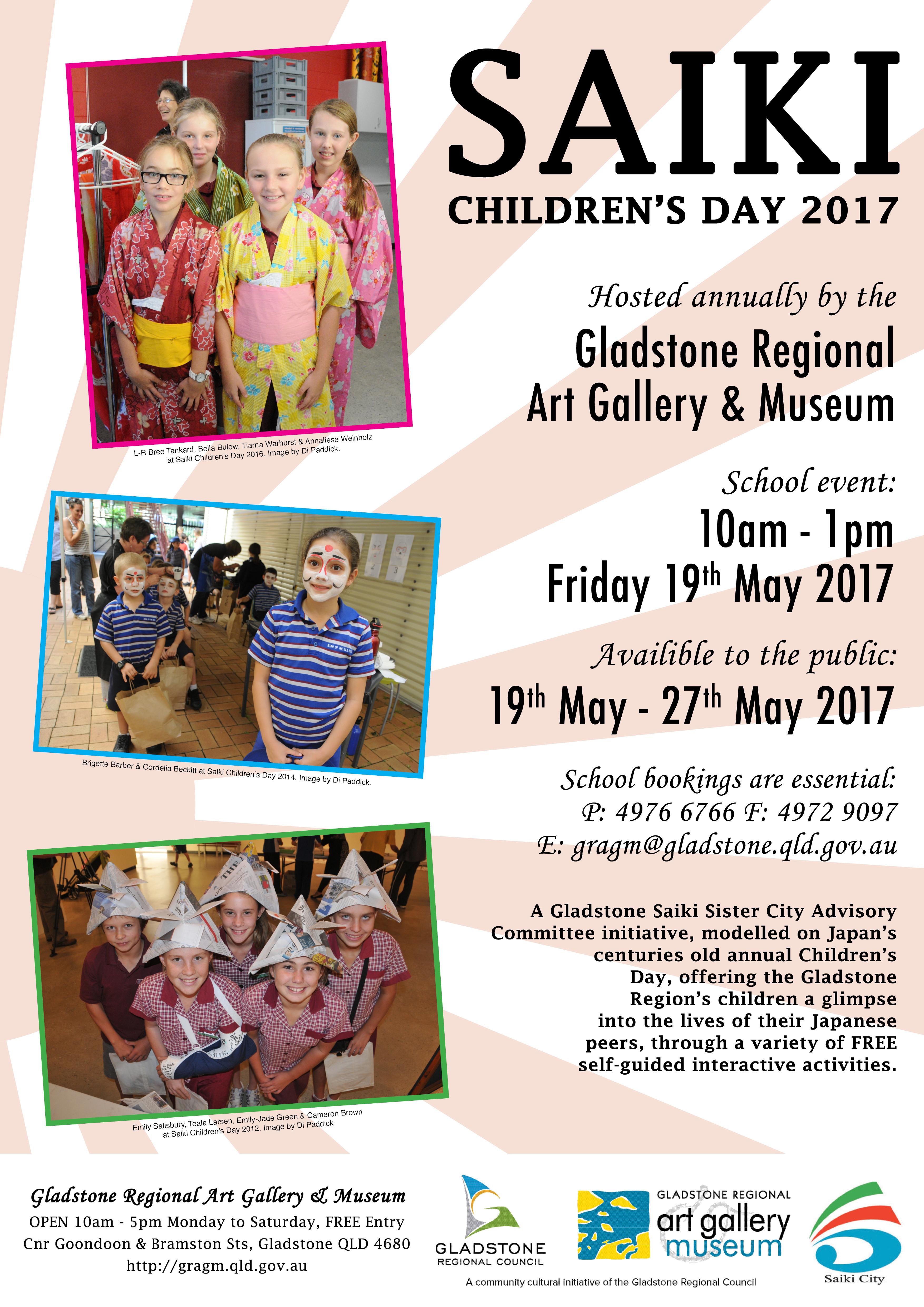Saiki Children S Day 2017