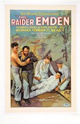 Cinema poster for the 1928 USA release of The Raider Emden, ANMM Collection