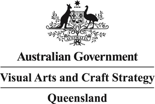Australian Visual Arts and Craft Strategy Queensland Logo