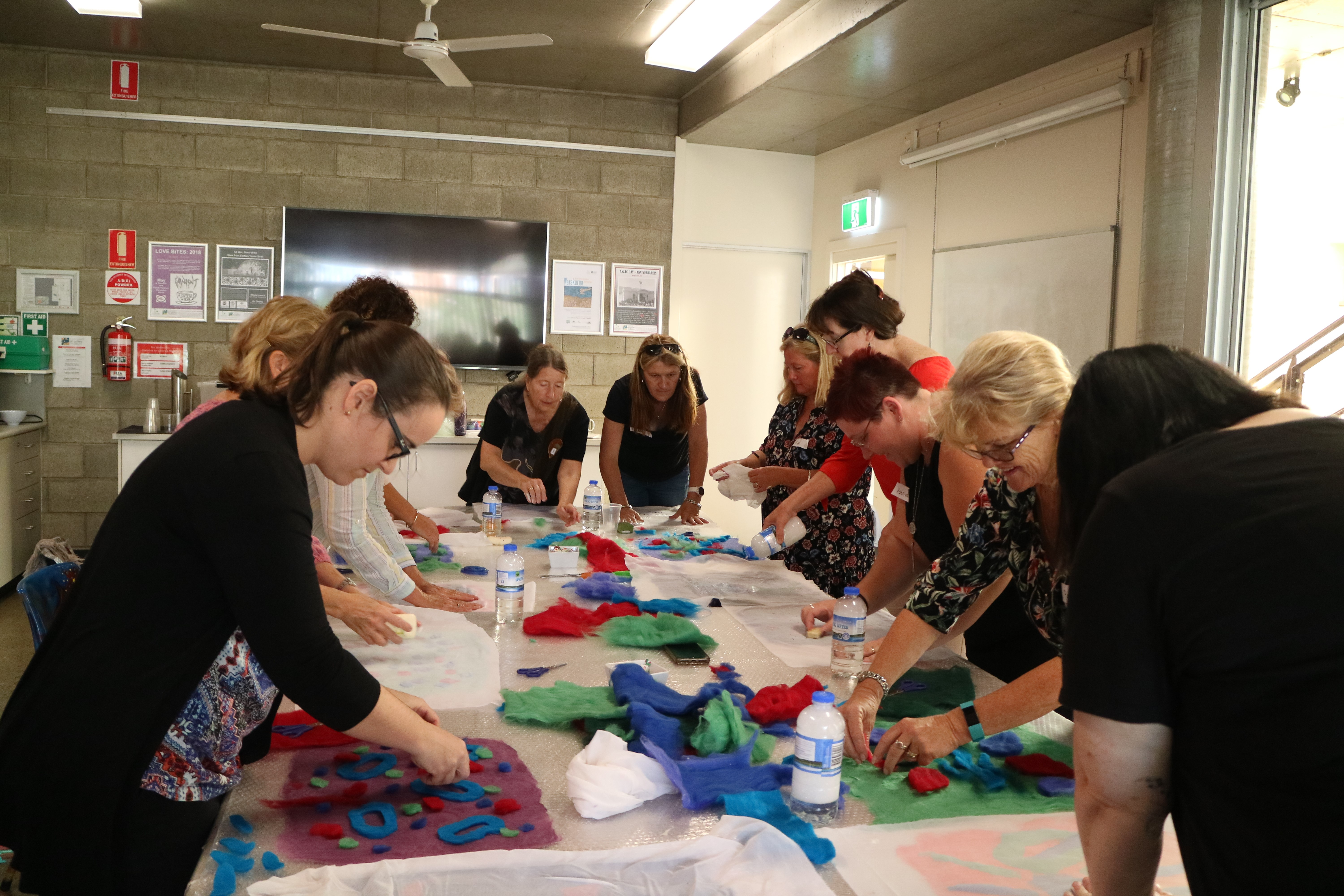An Introduction to Working with Textiles with Lidia Godjin, Saturday 26 May 2018, Photographer: E. Korotkaia.