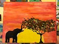 """Paint African Sunset"" image courtesy of the artist"